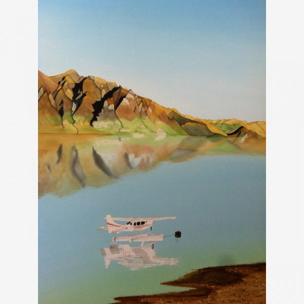 The Remarkables Carolyn Judge Watercolours Square